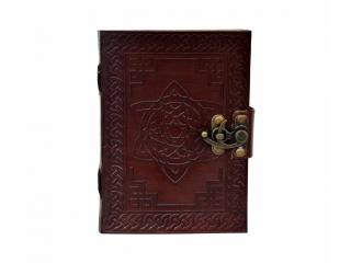 Handmade Leather Diary Journal Book of Shadows Celtic Beautiful Leather Blank Book Journal